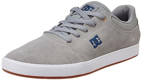 DC ADYS100029 - Zapatillas de Skateboarding de Otra Piel Hombre, Color Gris, Talla 44 EU: DC Shoes: Amazon.es: Zapatos y complementos