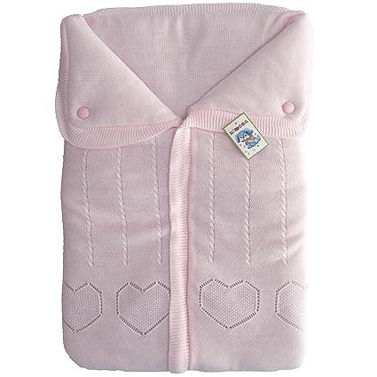 Saco de Dormir Bebe Bolso de Dormir Bebe para Cuna o Cochecito 66 x 45 cm
