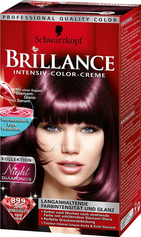 Schwarzkopf brillance Intensivo de color de crema Nivel 3 ...
