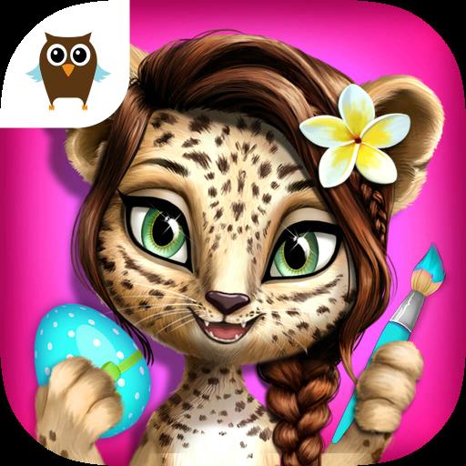 jungle-animal-hair-salon-2-tropical-pet-makeover