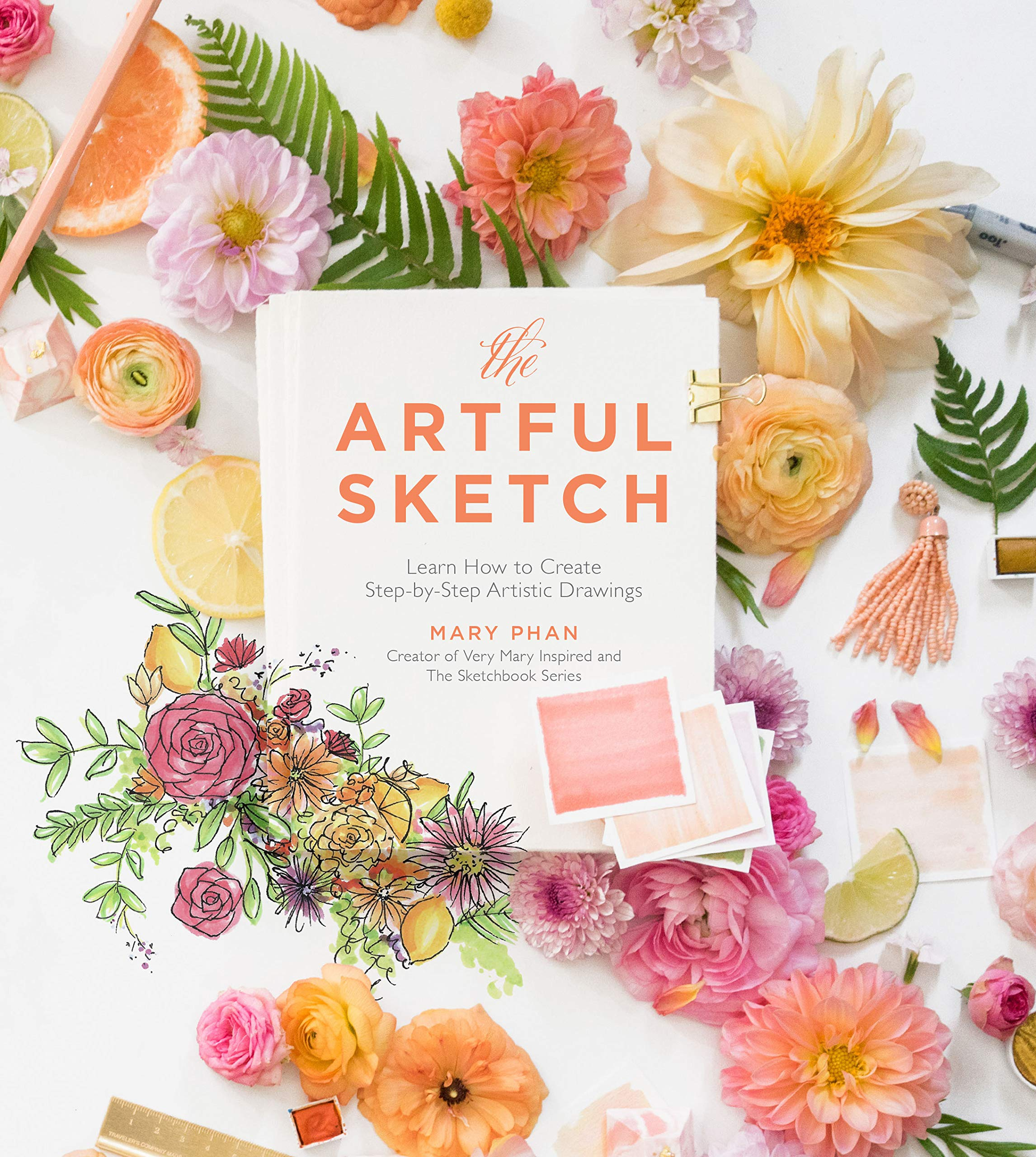 The artful sketch learn how to create step by step artistic the artful sketch learn how to create step by step artistic drawings mary phan 9781624146077 amazon books izmirmasajfo