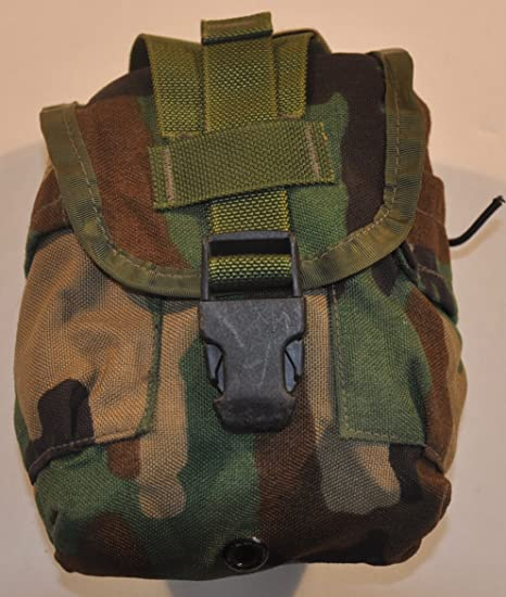 US Military Canteen Cover General Purpose MOLLE II Pouch For USGI 1 Qt Canteen