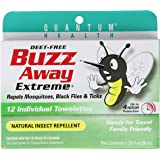 Buzz Away Insect Repellent Towelettes, Extreme, 12 Count Package