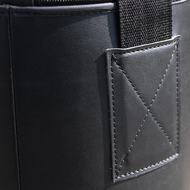 Boxhandschuhe Rapid Teck Profi Boxsack Sandsack gef/üllt Kunstleder Box-Set wahlweise mit Halterung Bandagen