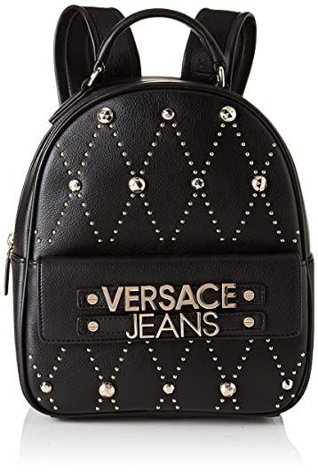 39cfbc67fda2 Amazon.com: Versace EE1VTBBE7 E899 Black Backpack for Womens: Shoes