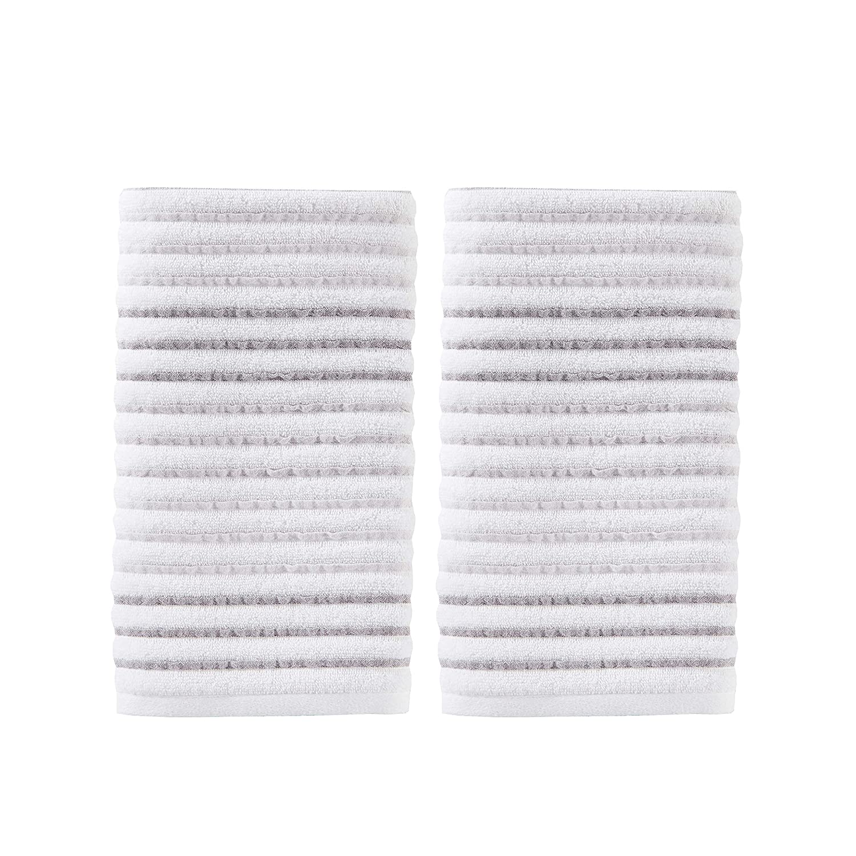 SKL Home by Saturday Knight Ltd. Tie Dye Stripe Bath Towel, Gray