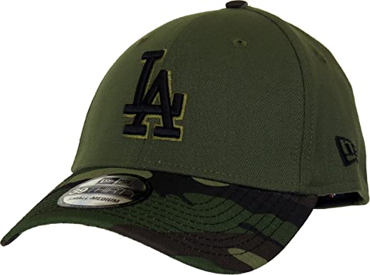 6e45b93fc5e7f1 Image Unavailable. Image not available for. Color: Los Angeles Dodgers New  Era 2017 Memorial Day 39THIRTY Flex Hat ...