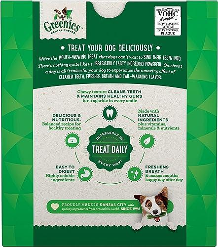 Greenies Original Petite Natural Dental Dog Treats 15 – 25 lb. dogs