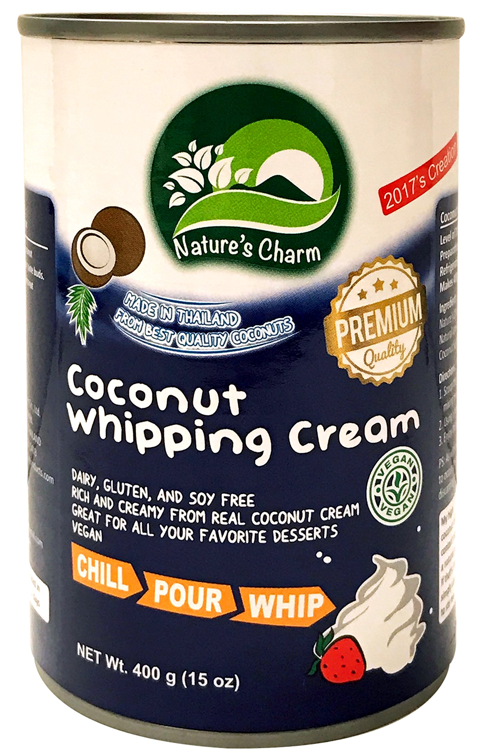 Nature's Charm Coconut Whipping Cream (6 pack)