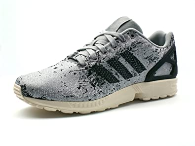 the latest e5bb1 e4ab6 Image Unavailable. Image not available for. Colour  adidas Originals ZX Flux  Weave  Moon Surface  Mens Trainers B23601