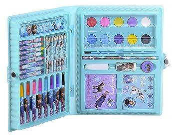 Disney La Reine Des Neiges Mallette De Coloriage 52 Pieces