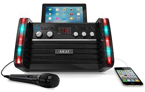 Akai KS213 Portable CD&G Karaoke System