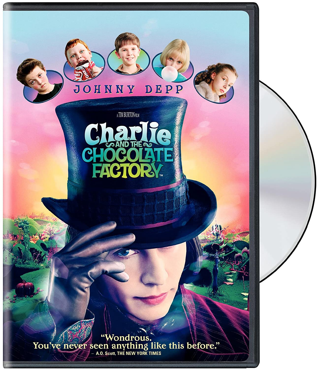 com charlie and the chocolate factory widescreen edition com charlie and the chocolate factory widescreen edition johnny depp freddie highmore david kelly helena bonham carter noah taylor