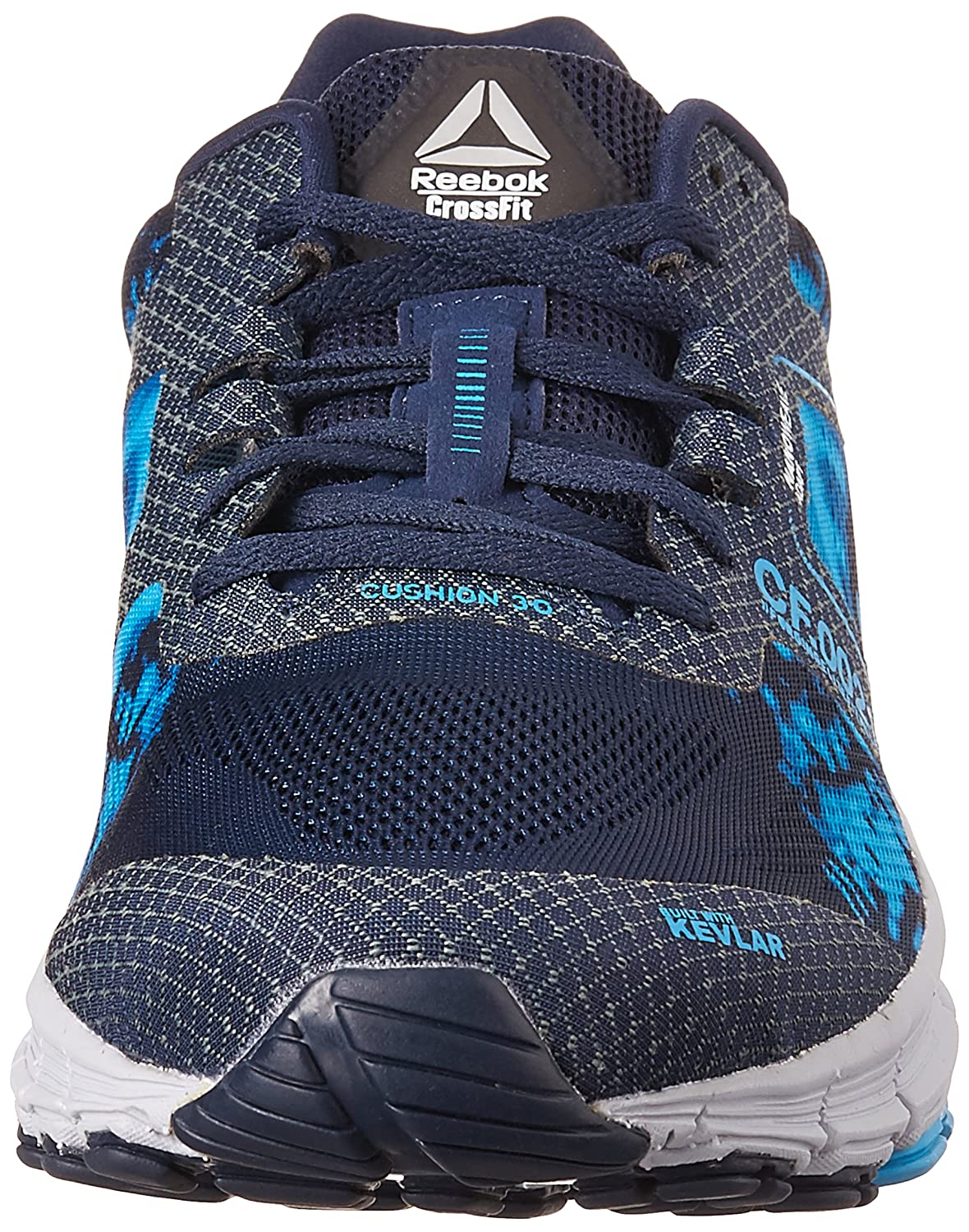reebok crossfit shoes blue. reebok men\u0027s r crossfit one cushion3.0 navy, blue, black and grey running shoes - 9 uk/india (43 eu) (10 us): buy online at low prices in india amazon.in blue e