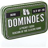 Mini Pocket Sized Dominoes Travel Game - Set of 28 Dominoes