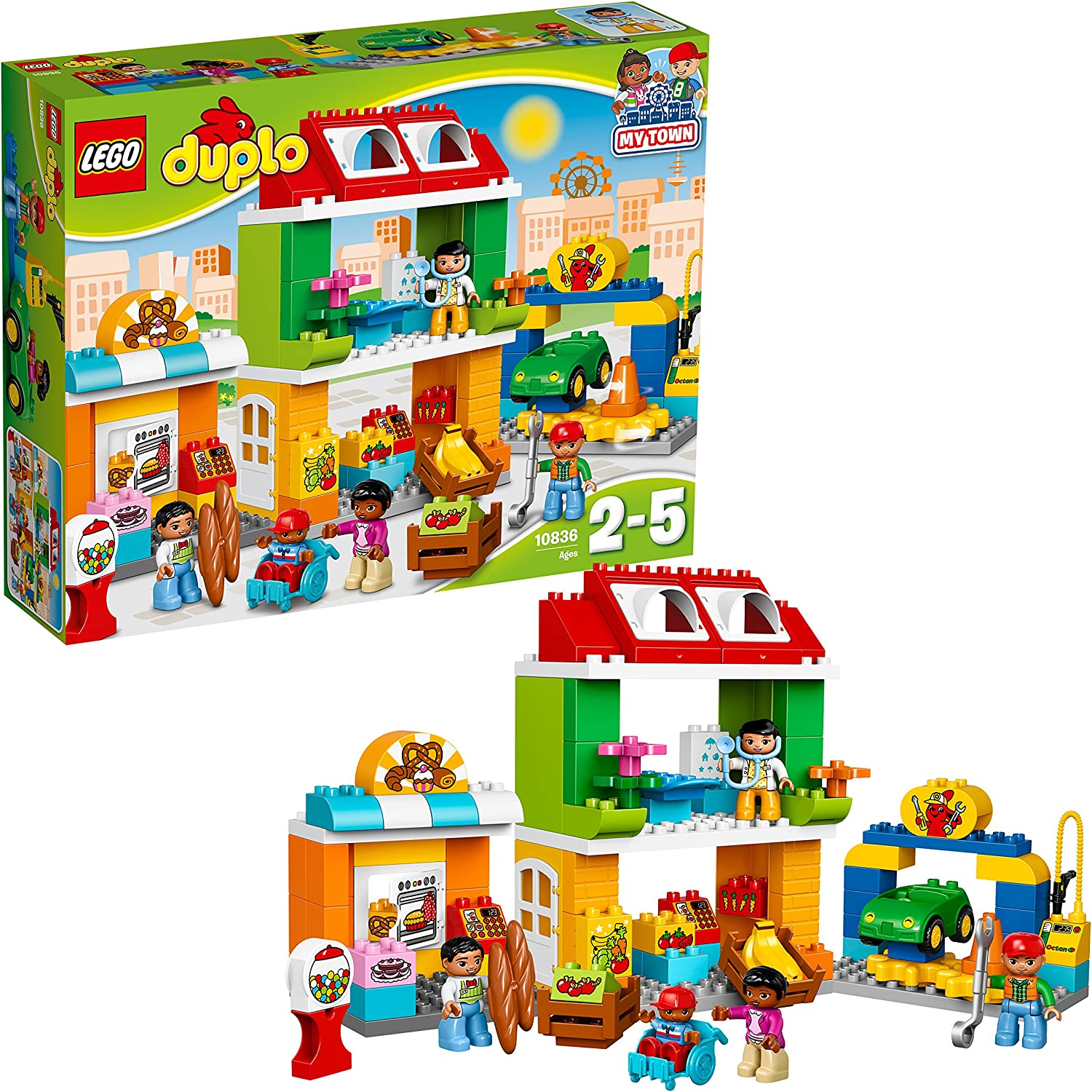 LEGO DUPLO Town - Plaza mayor (10836) , color/modelo surtido ...