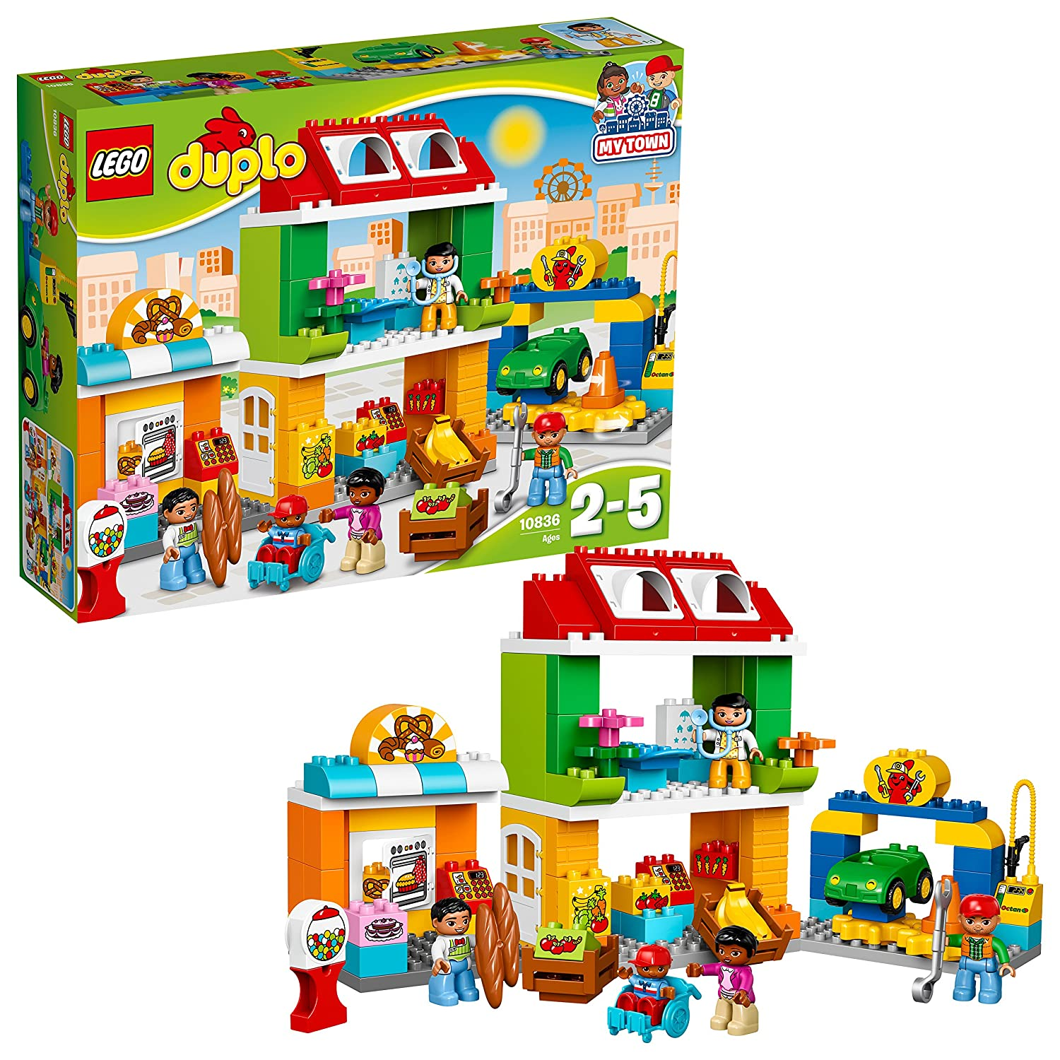 LEGO DUPLO Town - Plaza mayor (10836)