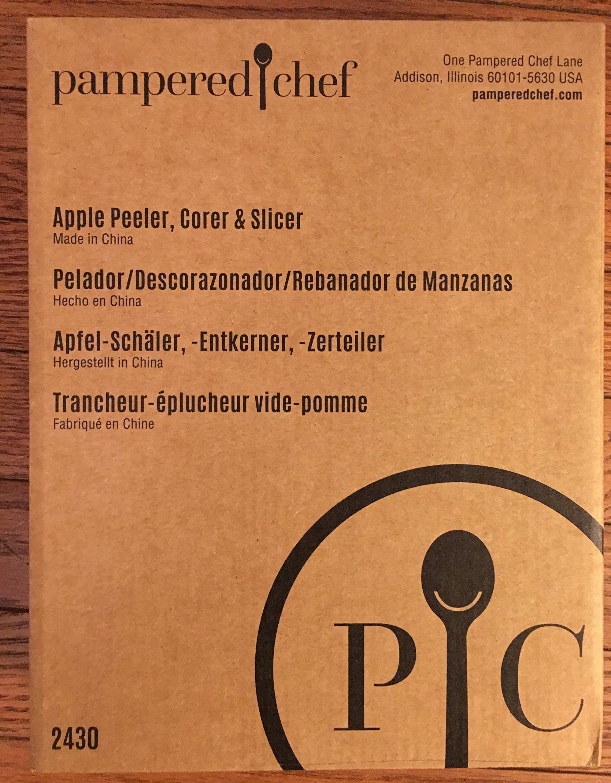 The Pampered Chef 2430 Apple Peeler, Corer, Slicer by Pampered Chef
