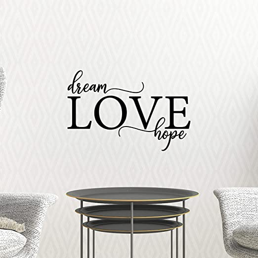 Live Laugh Love Vinyl Wall Decal Sticker Romantic Life Saying Quote Removable