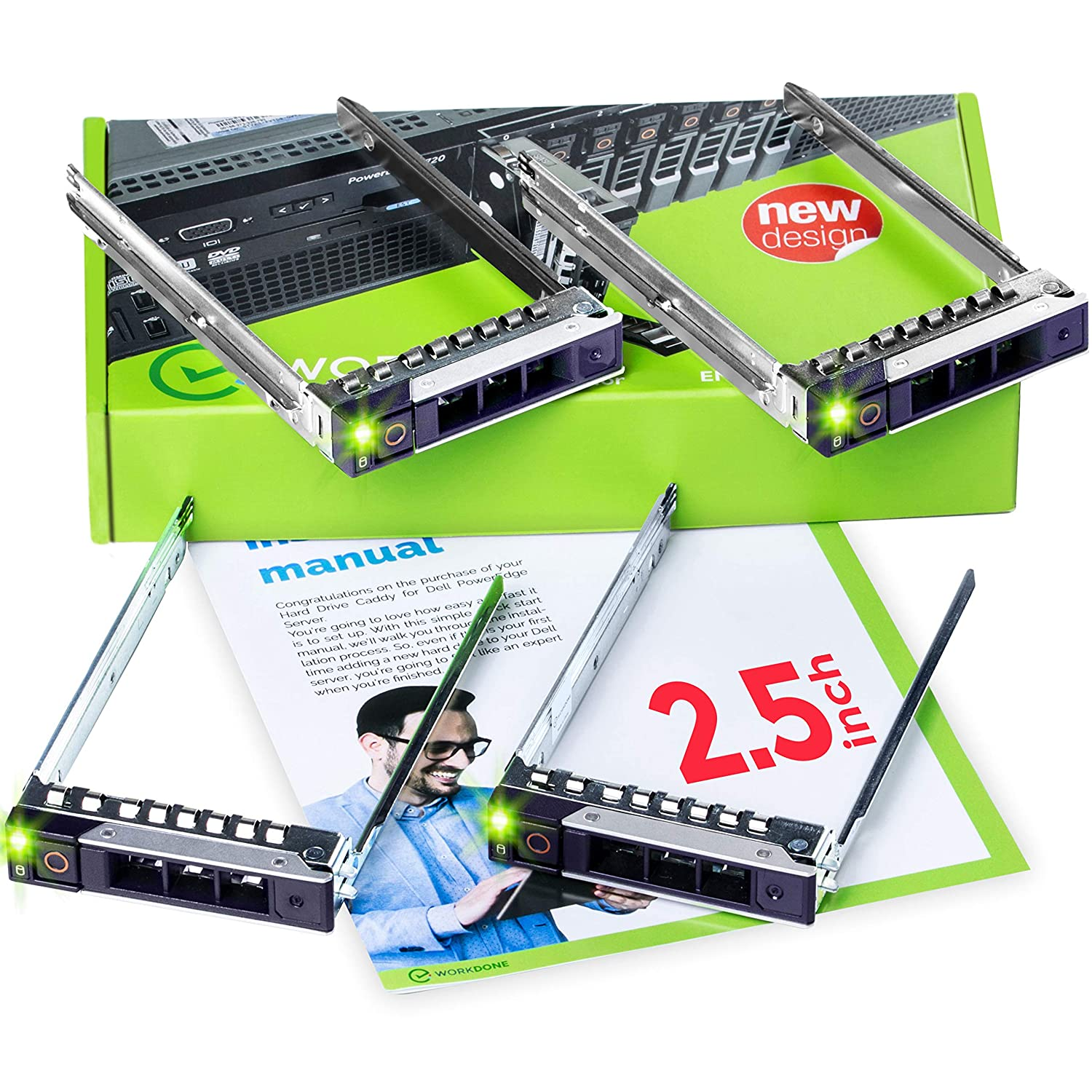 WORKDONE 4-Pack - 2 5