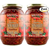 Bella Sun Luci Sun Dried Tomatoes Julienne Cut in Olive Oil, 35oz Jar (Pack of 2, Total of 70 Oz)