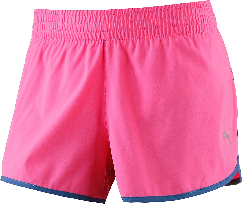 PUMA Core-Run 3` Shorts W Pantalones Cortos, Mujer