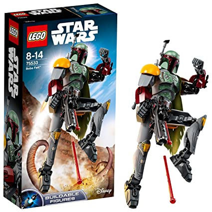 Boba De Fett Star Juego Lego Wars ConstrucciónMulticolorÚnica75533 80Nnmw