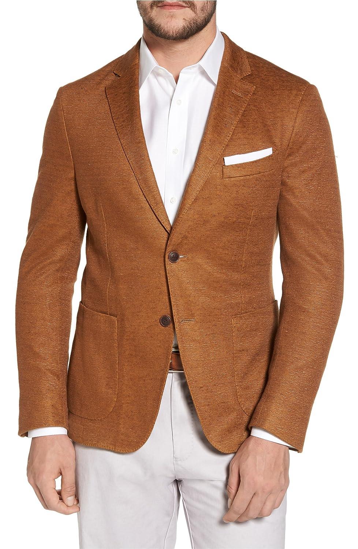 [フライント] メンズ ジャケットブルゾン FLYNT Trim Fit Heathered Jersey Blazer [並行輸入品] B07DVYNKD9 Regular-48L