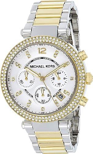 Michael Kors Women's Parker Two Tone Watch MK5626