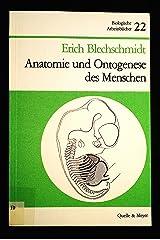 Anatomie und Ontogenese des Menschen (Biologische Arbeitsbücher ; 22) (German Edition) Perfect Paperback