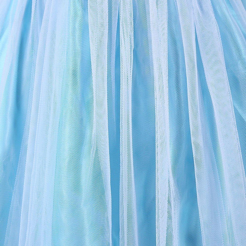 ELSA /& ANNA/® Ragazze Principessa abiti partito Vestito Costume IT-FR314