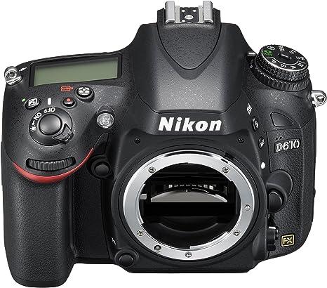 Nikon D610 - Cámara réflex Digital de 24.3 MP (Pantalla de 3.2 ...