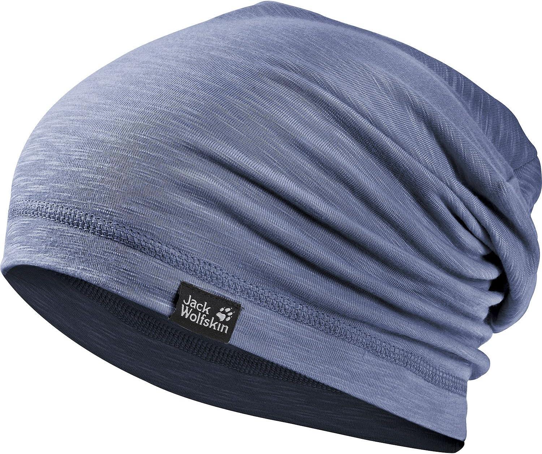 Dusk Blue Jack Wolfskin Travel Beanie Headgear 21 5//8-23 2//8 One Size//