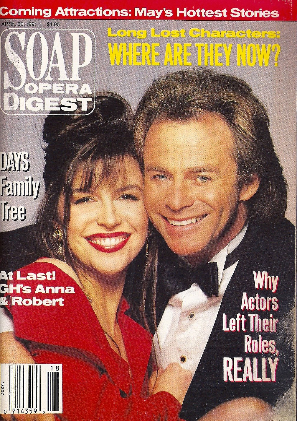 Finola Hughes Tristan Rogers General Hospital Barbara Stock Why Actors Really Left Their Roles April 30 1991 Soap Opera Digest Magazine Soap Opera Digest Meredith Berlin Amazon Com Books
