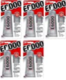 E6000 230010 Craft PigpEv Adhesive, 3.7 Fluid Ounces (Pack of 5)