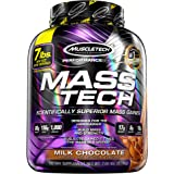 MuscleTech Mass Tech, Scientifically Superior Weight Gain Formula, Milk Chocolate, 7 lbs (3.18kg)