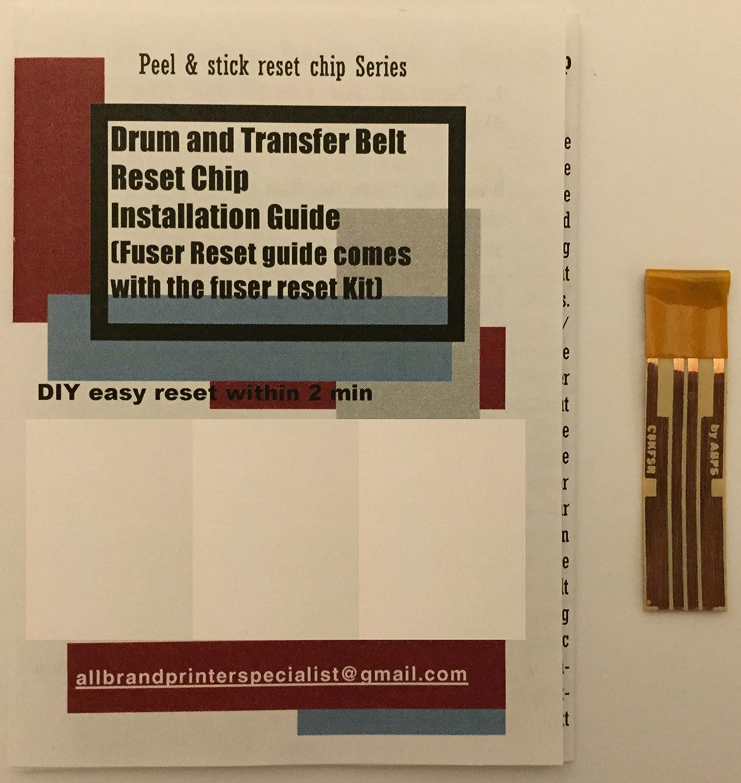 Super Easy Drum, Transfer Belt and Fuser Reset Solution for OKI OKIDATA C5800, C5850, C5900, MC560, C5550MFP n dn dtn hdtn mfp (1x Fuser Reset Chip)