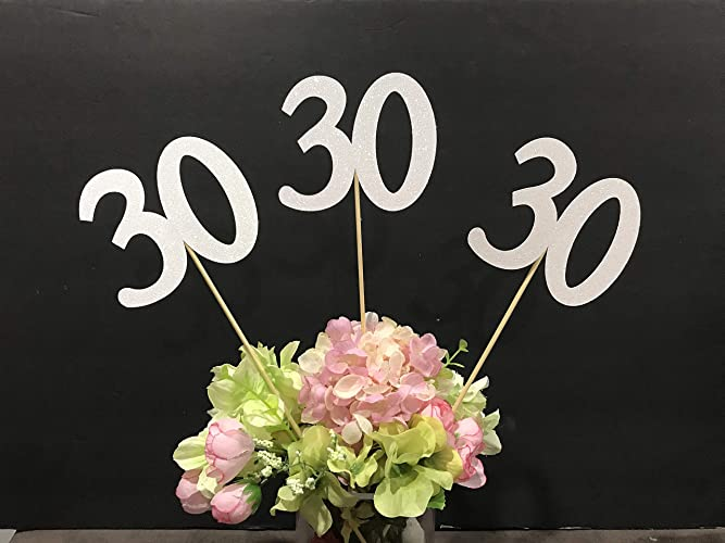 Image Unavailable Not Available For Color 30th Birthday Centerpiece