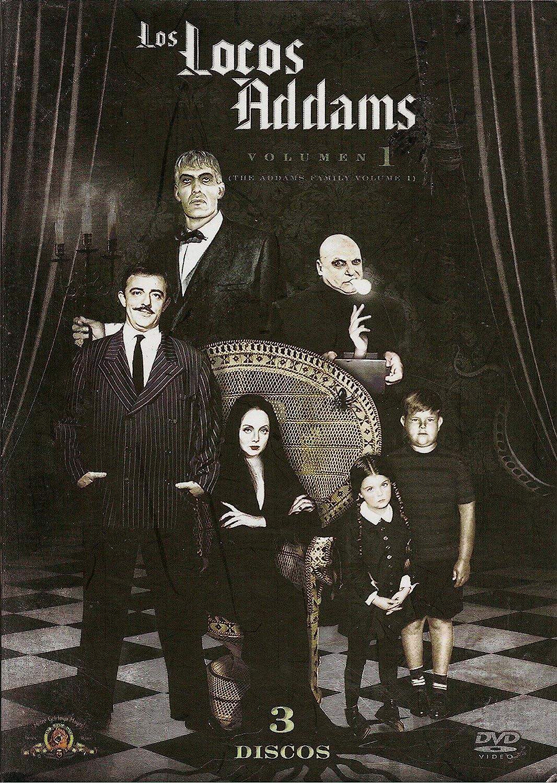 Amazon Com The Addams Family Volume 1 Los Locos Addams Volumen 1 Ntsc Region 1 4 Dvd Import Latin America Tv Series 1964 1966 3 Discs Subtitles English Spanish Portuguese John
