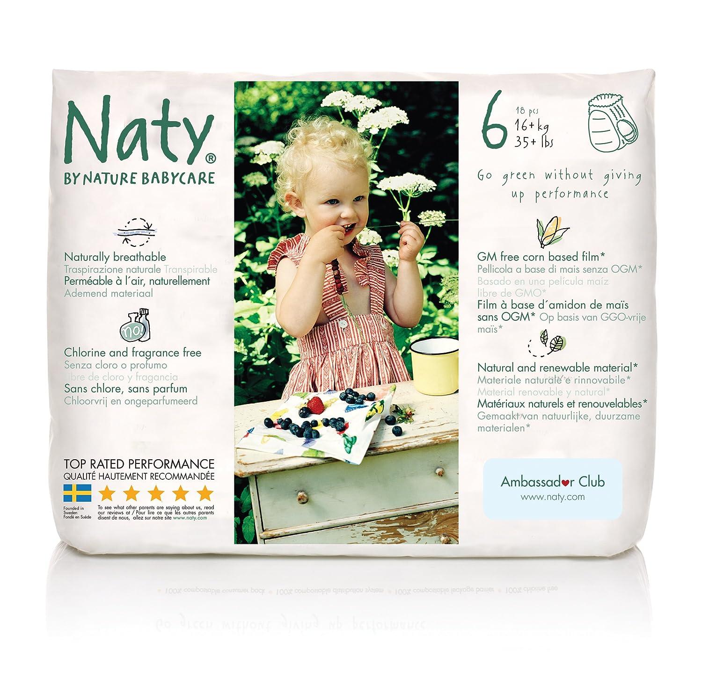 ECO Windelhöschen 16+ kg Größe 6 Naty by Nature Babycare