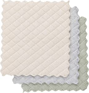 Envision Home, Dish Cloths Quilted 3 Pack