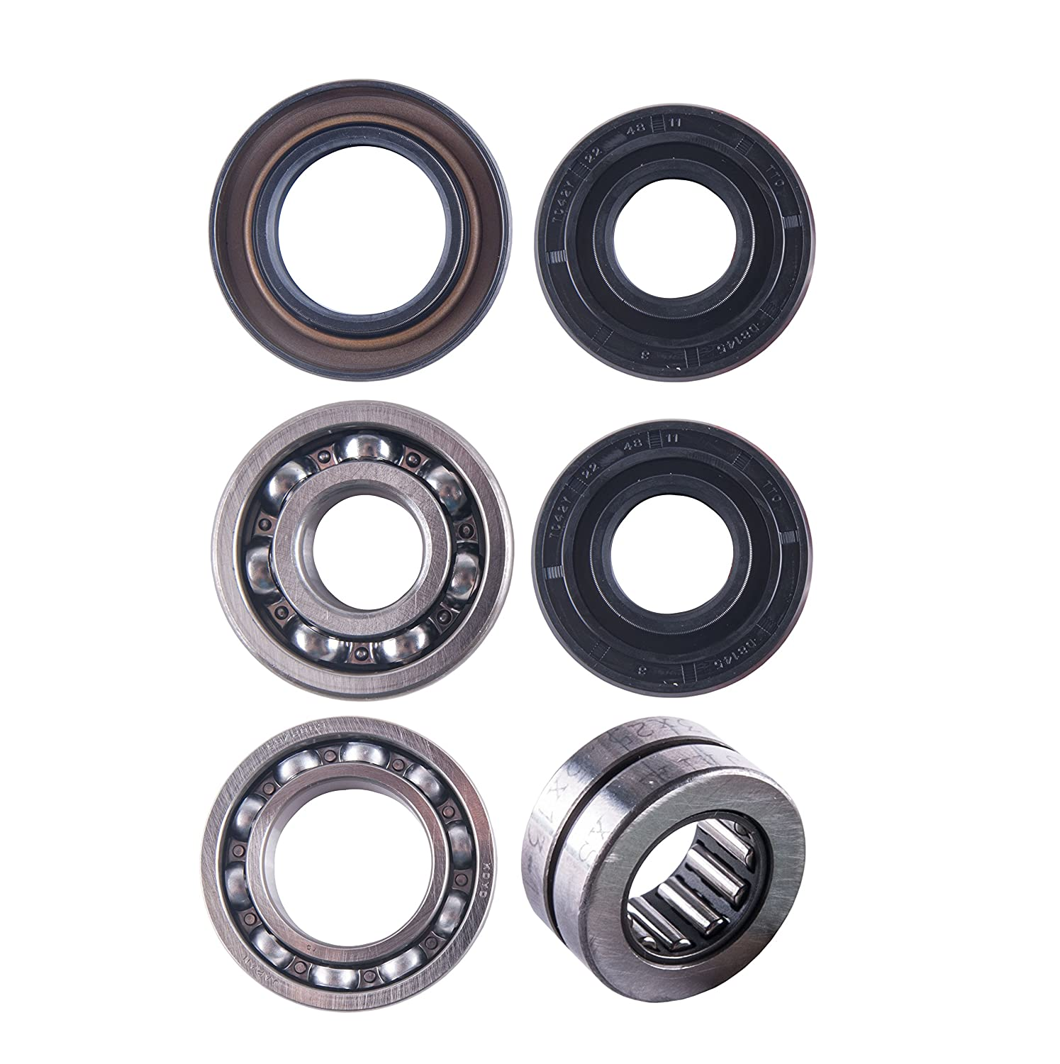 East Lake Axle Front differential bearing /& seal kit compatible with Honda TRX 300 FW 1988 1989 1990 1991-00