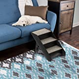PETMAKER Folding Pet Stairs-Carpeted Foldable
