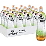 Gatorade G-Active Mango Flavoured Electrolyte Water, 12 x 600ml