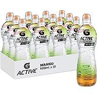 Gatorade G-Active Mango Flavoured Electrolyte Water, 12 x 600ml