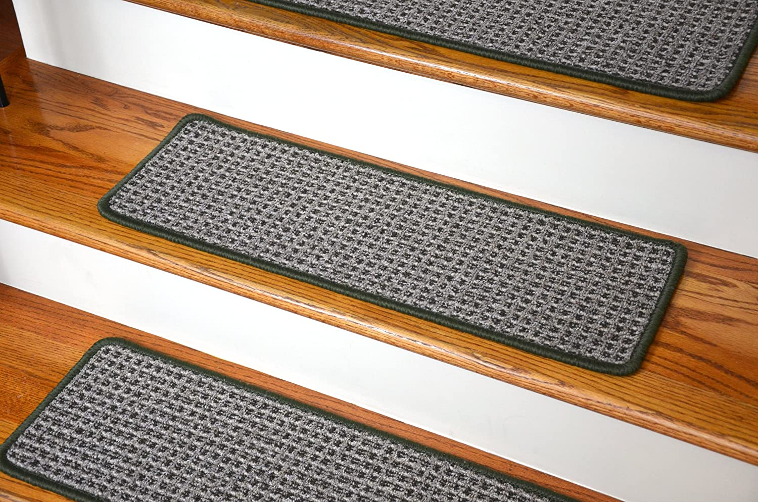 Washable Non-Skid Carpet Stair Treads - Chameleon (13) Dean Flooring Company ST-031911A