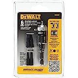 DEWALT DW2507 Conjunto compacto de carga rápida, 6 peças