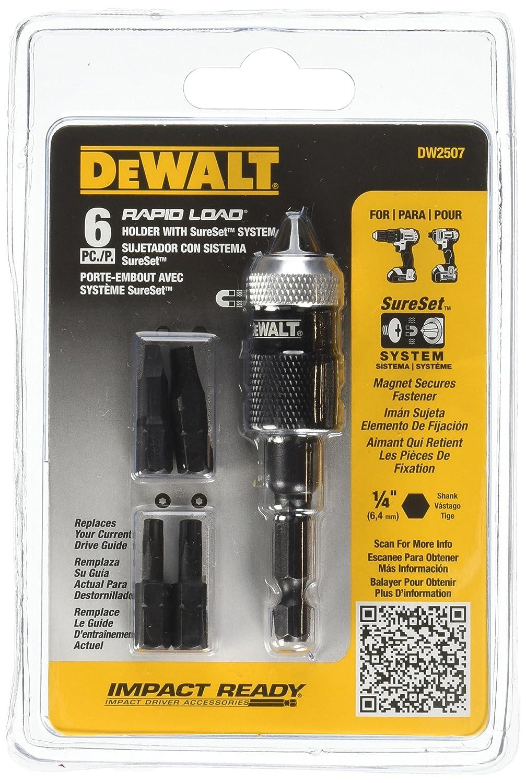 DEWALT DW2507 Compact Rapid Load Set, 6-Piece