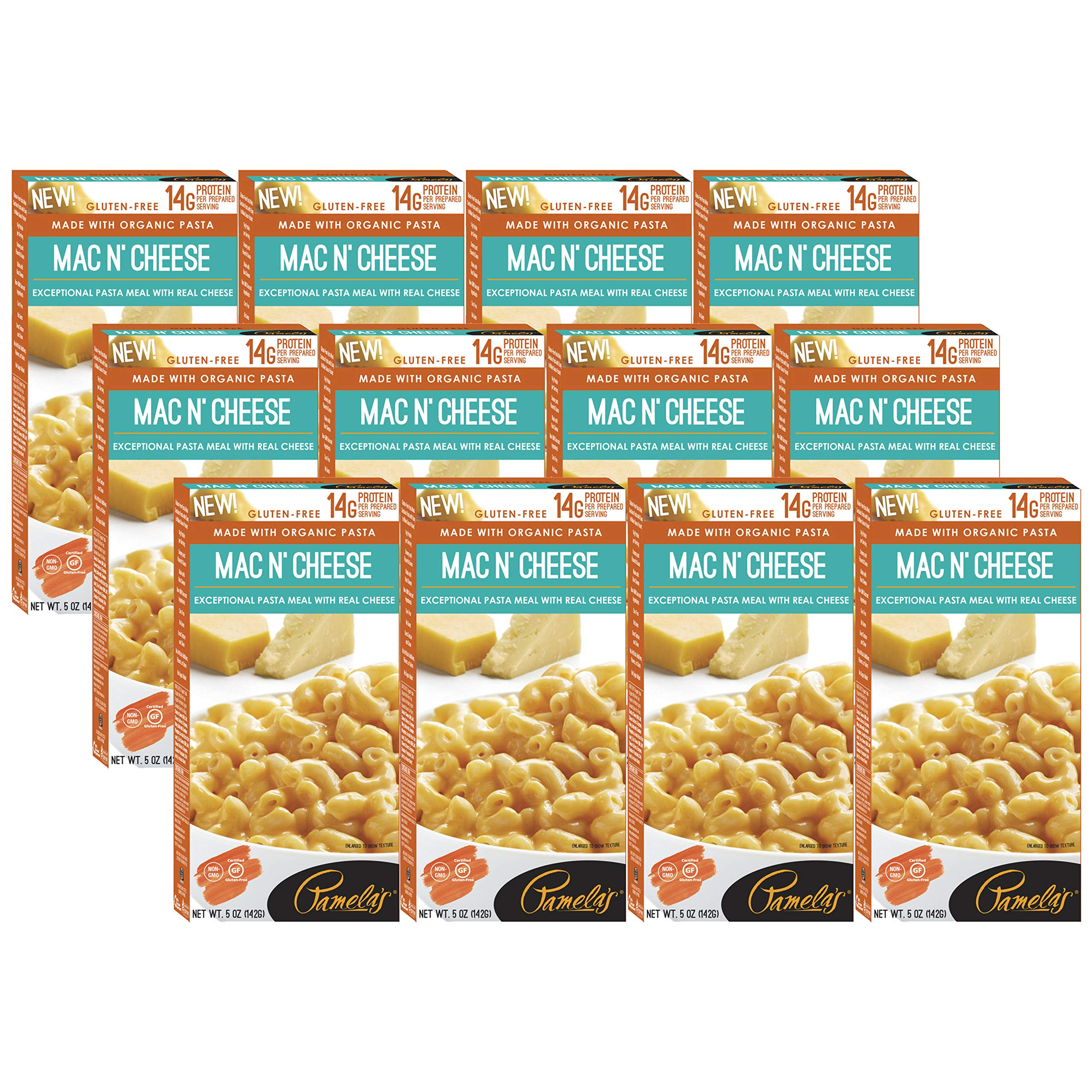 Pamela's Products Pasta Meal,Organic ,Mac & Chee 5 Oz (Pack Of 12) by Pamela's Products