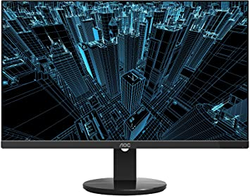 "AOC Q2778VQE 27/"" Quad HD 2560x1440 monitor HDMI//DisplayPort// 1ms response time"